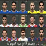 دانلود فیس پک PES 2015 Faces Pack V4