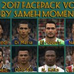 فیس پک vol.9 by Sameh Momen برای PES 2017