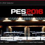 دانلود پچ کلاسیک PES 2016 Classic Patch 1.00