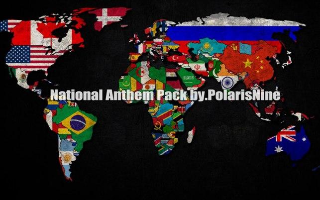 پک سرود ملی کشور ها برای Pes 2016