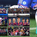 منو های گرافیکی جدید بارسلونا  Pes 16