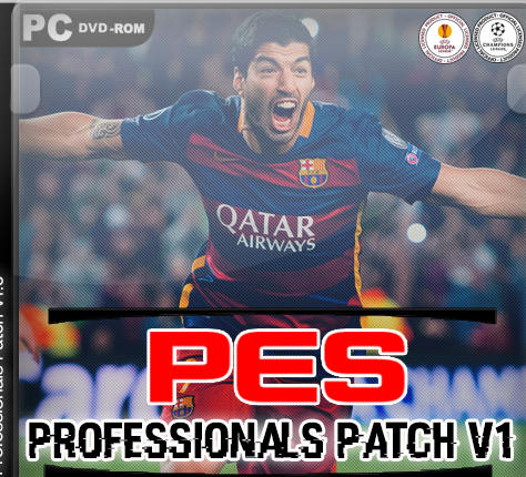 پچ بروزرسانیPESProfessionals Patch v1 For PES 2016