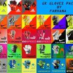 دانلود پک دستکش GK Gloves Pack برای pes16