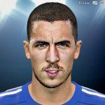 دانلود فیس ادن هازارد Eden Hazard برای pes2016