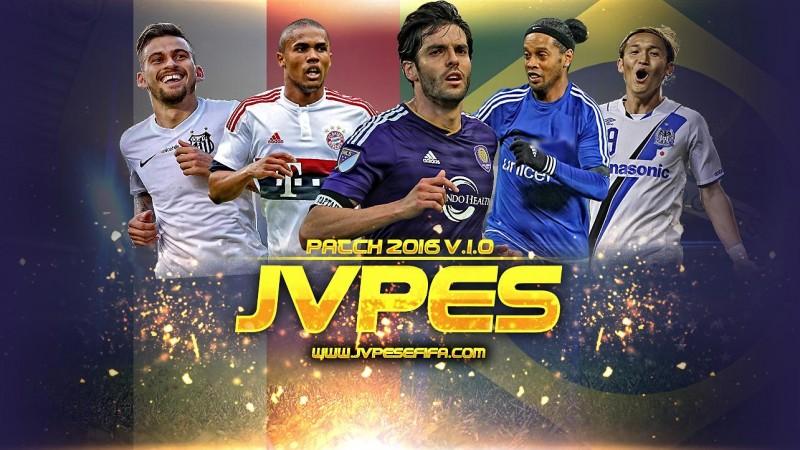 دانلود پچ JVPES ورژن 1برای Pes 2016