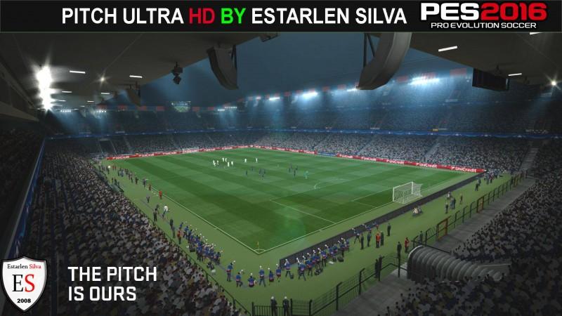 دانلود چمن Ultra HD برای PES 2016