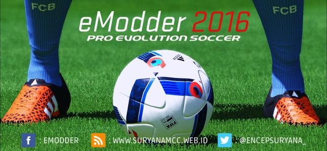 دانلود پچ( ورژن 4 )eModder16 برای PES2016