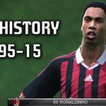 ویدیوی تاریخچه بازی PES از سال 95 الی 2016
