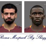مینی فیس پک تیم Roma برای PES 2016