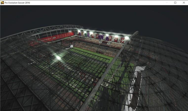 ورزشگاه زیبای آمستردام آرنا برای PES 2016