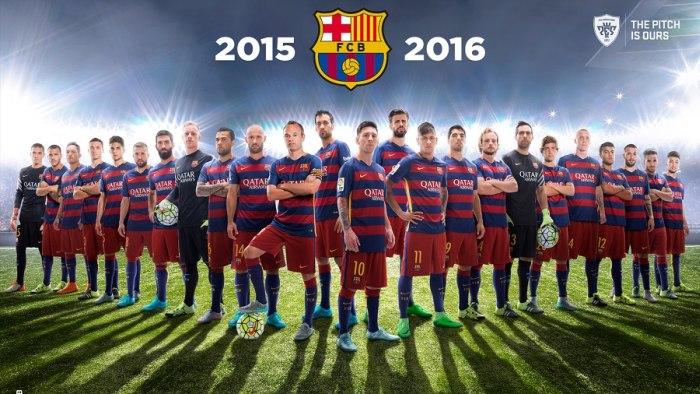 پک گرافیکی تیم بارسلونا برای PES 2016