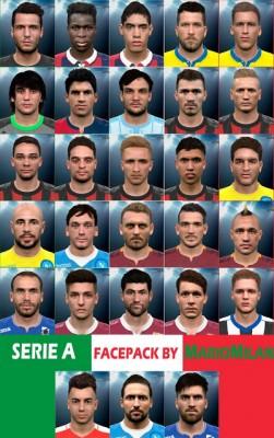 فیس پک جدید Serie A برای PES2016