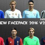 فیس پک جدید 2016 برای PES2013