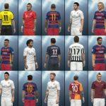 تتو پک جدید شامل خالکوبی ۳۵ بازیکن برای PES2016