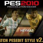 پچ جدید PESEdit Style v2.0 برای PES2010