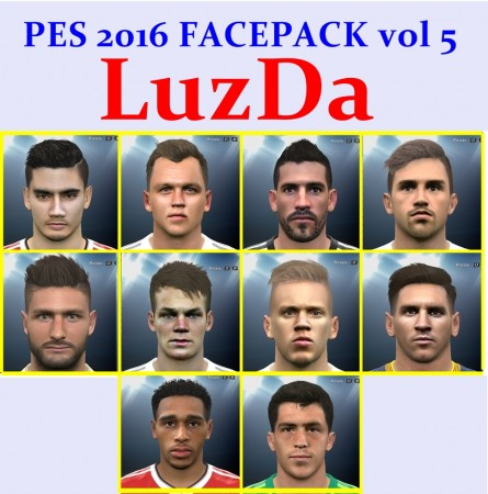 فیس پک جدید ورژن 5 برای PES2016