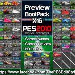 پک کفش HD  جدید برای PES 2010