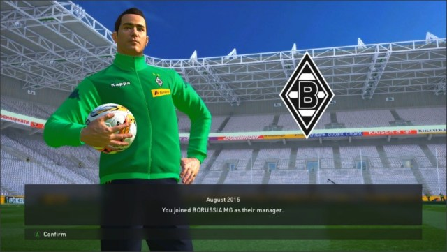 ورزشگاه Borussia Park برای PES 2016