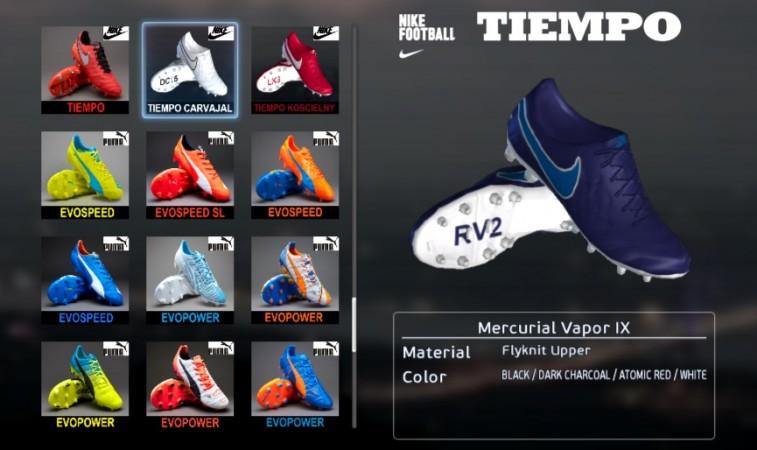 پک کفش جدید نایک برای PES 2013