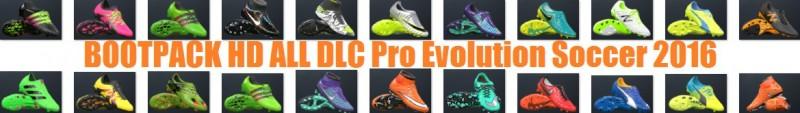 پک کفش  جدید HD برای PES 2016