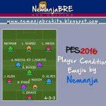 شکلک جدید وضعیت بازیکنان برای PES 2016