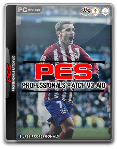 پچ  Professionals Patch  ورژن 3 برای PES 2016