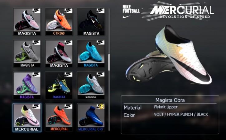 کفش جدید Mercurial برای PES 2013