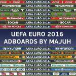 پک تابلو تبلیغاتی یورو 16 برای PES 2016