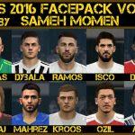 فیس پک جهانی جدید برای PES 2016