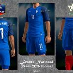 کیت 2016 تیم فرانسه برای PES 2013