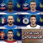 فیس پک جدید یورو 2016 برای PES 2016