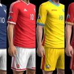 کیت پک HD همه تیمهای یورو 2016 برای PES 2013