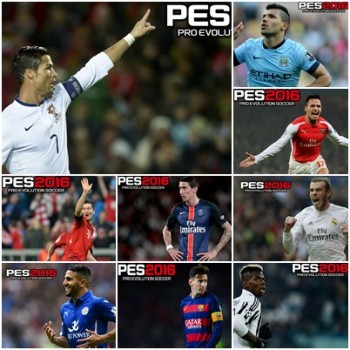 پک استارت اسکرین برای PES 2016