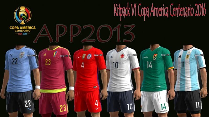 کیت پک Copa America برای PES 2013