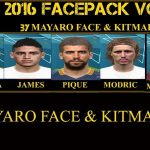فیس پک جدید برای PES 2016