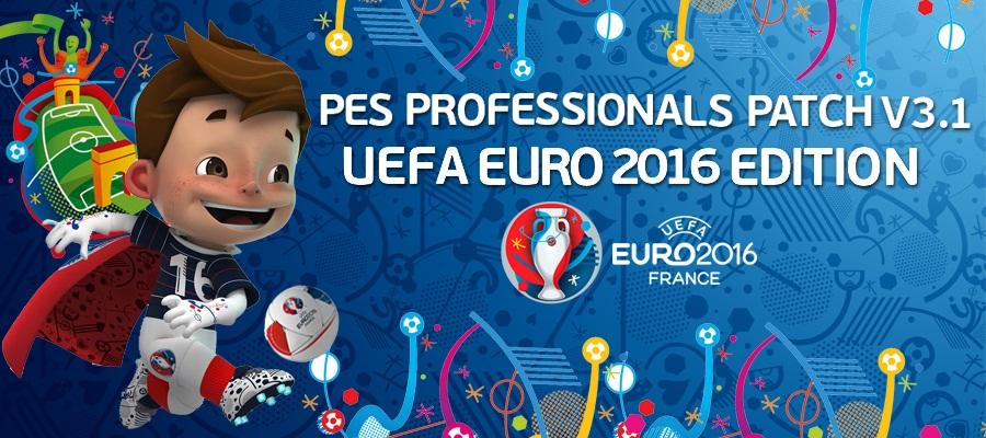 آپدیت پچ Professionals ورژن 3.1 + فیکس برای PES 2016