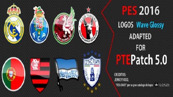 لوگو پک جدید پچ PTE ورژن 5 برای PES 2016
