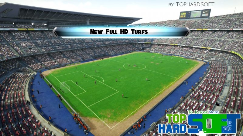 دانلود چمن جدید Full HD برای PES 2013