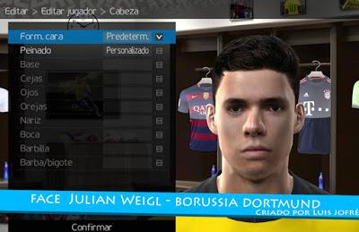فیس بازیکن دورتموند خولین ویگل برای PES2010