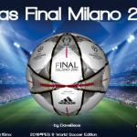 توپ فینال لیگ قهرمانان 2016 میلان برای PES 6