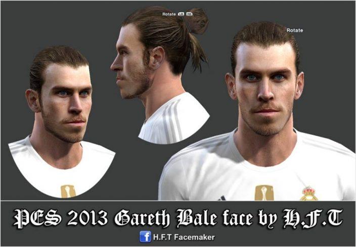 فیس جدید Gareth Bale برای PES 2013
