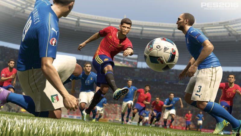 دانلود گیم پلی TESTED Gameplay برای PES 2016