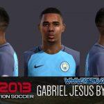 فیس Gabriel Jesus برای PES 2013