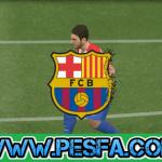 لوگو ریپلای بارسلونا برای PES 2017