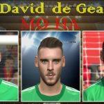 دانلود فیس جدید David de Gea برای PES 2016