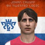 دانلود فیس Johan Cruff برای PES 2016
