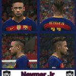 دانلود فیس Neymar برای PES 2016