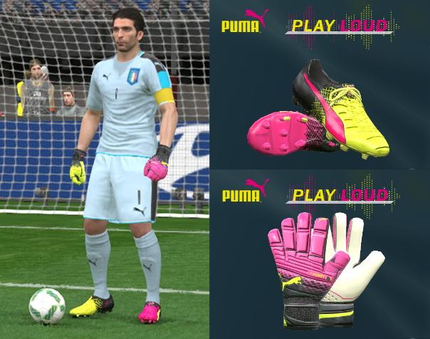 دانلود پک دستکش و کفش جدید برای PES 2016