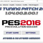 پچ جدید Tuning Patch ورژن 1.04 برای PES 2016 (آپدیت اضافه شد)
