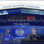 منوی گرافیکی Leicester City برای PES 2016